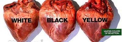 Corações: Branco, Amarelo, Preto