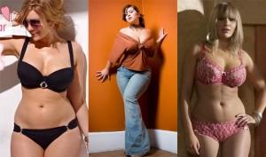 Mulheres um pouco acima do peso