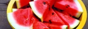 Pedaços de melancia