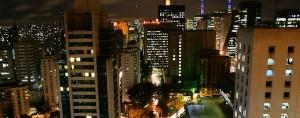 Foto de São Paulo, tirada a noite