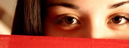 dois olhos de mulher