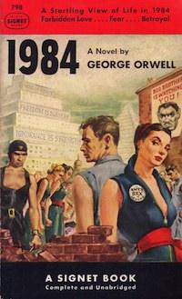 Capa do livro 1984