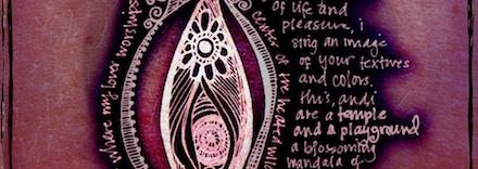 Desenho explicativo de uma vagina